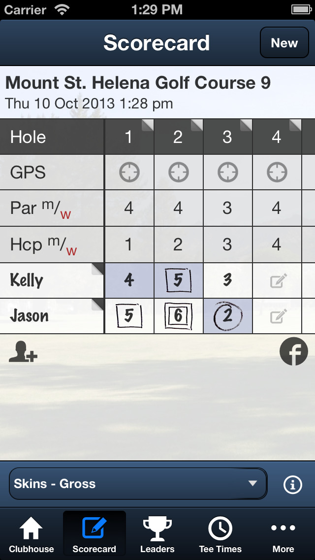 Mount St. Helena Golf Course screenshot 4