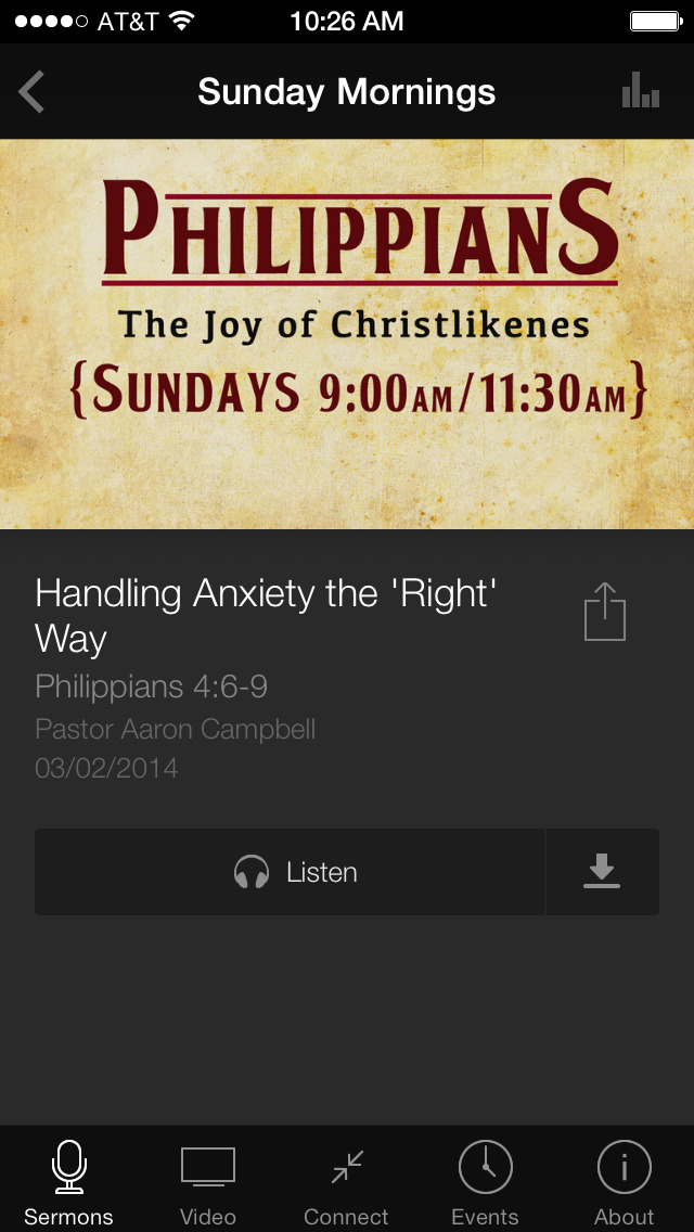 Antioch Christian Fellowship screenshot 3