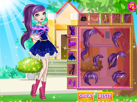 Poppy O'hair Dress Up screenshot 6