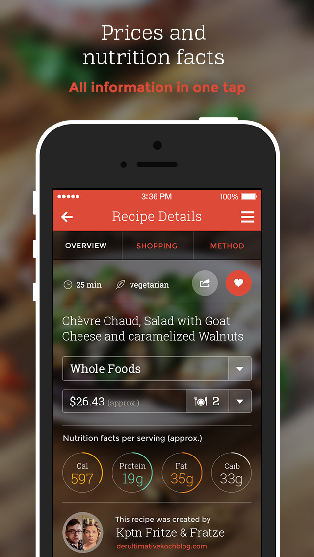 KptnCook Recipes & Cooking screenshot 2