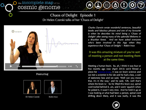 The Incomplete Map of the Cosmic Genome screenshot 4