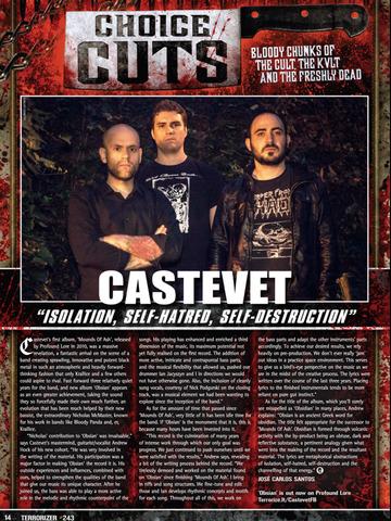 Terrorizer Magazine screenshot 8