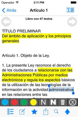 Legislación Española - náhled
