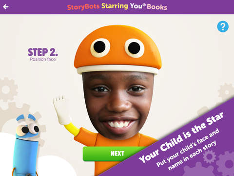 StoryBots – Learning Books, Videos and Games Starring Your Child! screenshot 1