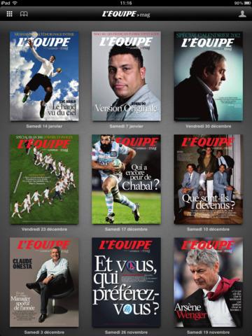L'Equipe Magazine screenshot 5