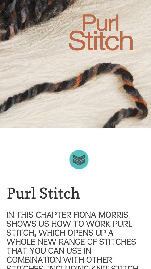 Knitting, A Basic Guide screenshot 5
