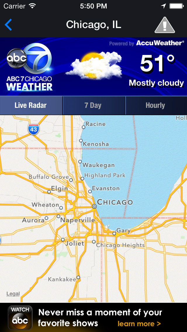 ABC7 Chicago Weather screenshot 2
