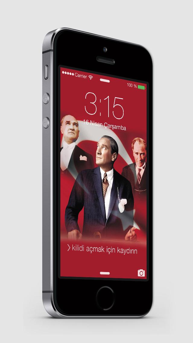 Atatürk Wallpapers & Lock Screens screenshot 2