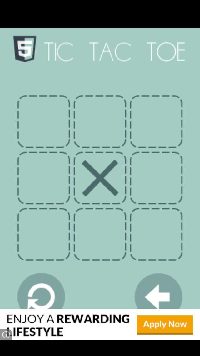 Math Tic Tac Toe screenshot 1