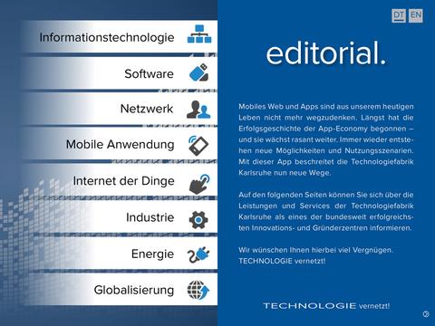 Technologiefabrik Karlsruhe APP - náhled