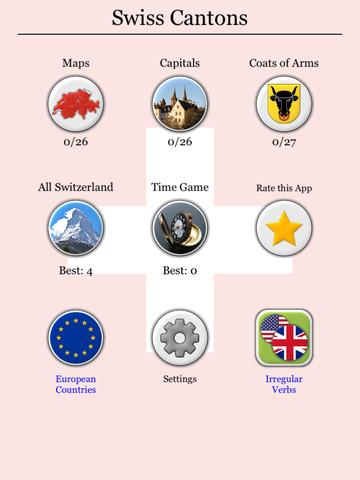 Swiss Cantons - Map & Capitals screenshot 8