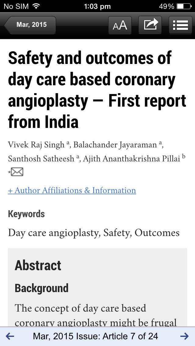 Indian Heart Journal screenshot 4