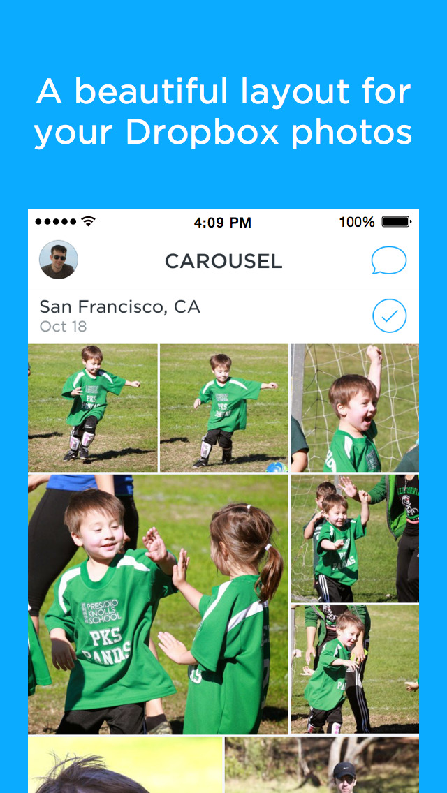 Carousel by Dropbox screenshot 1