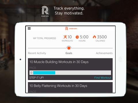 Radius Fitness screenshot 7