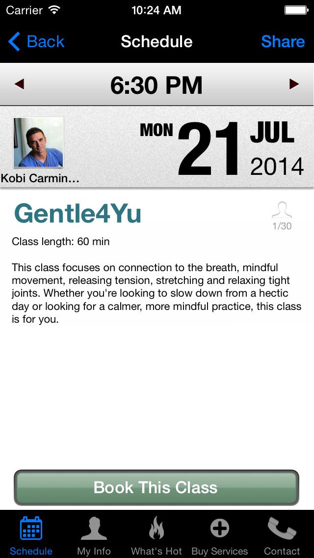 Yoga4Yu screenshot #4