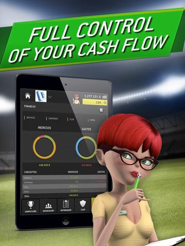 Striker Manager 2: Lead your Football Team screenshot 8