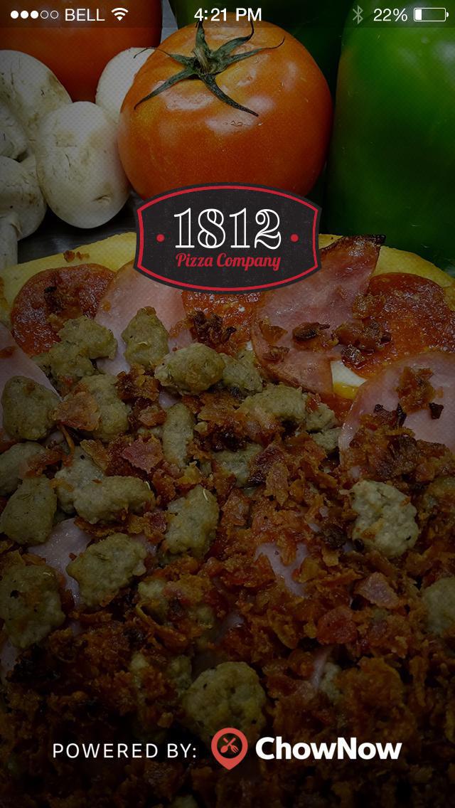 1812 Pizza Company screenshot 1