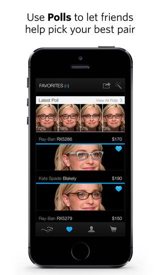 Glasses.com screenshot 5