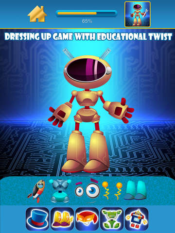 My Little World of Real Robots Copy And Create Free Game App screenshot 7