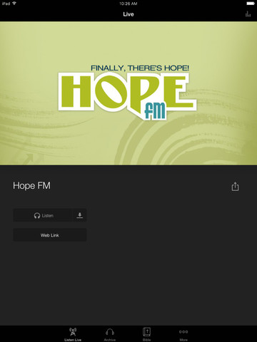 Hope FM screenshot 5