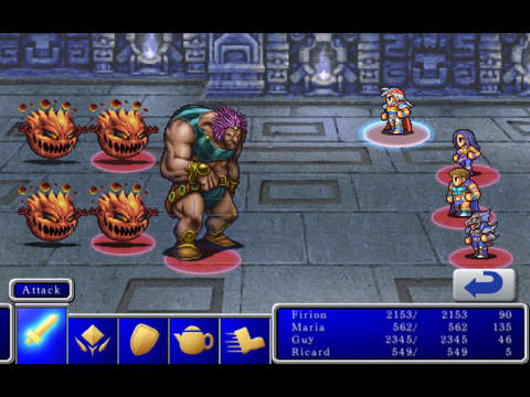 FINAL FANTASY II screenshot #2
