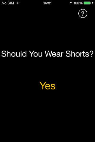 Shorts Weather Pro - náhled