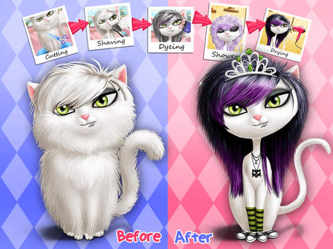 Animal Hair Salon, Dress Up and Pet Style Makeover - No Ads screenshot 7