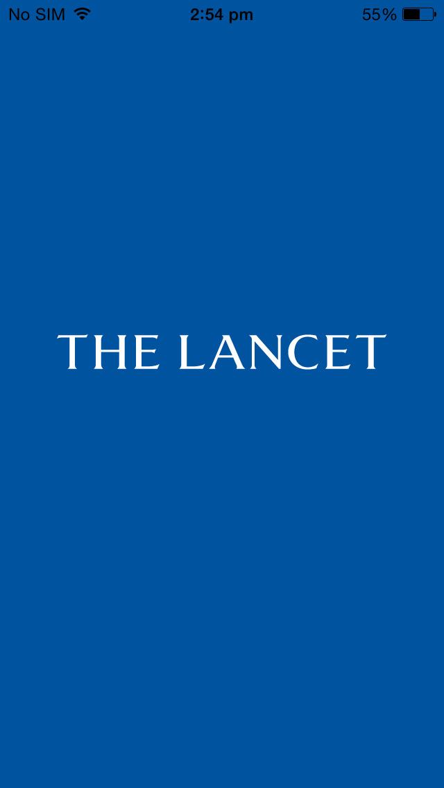 The Lancet screenshot 1