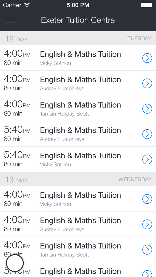Exeter Tuition Centre screenshot 1