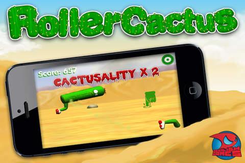 Roller Cactus 3D - náhled