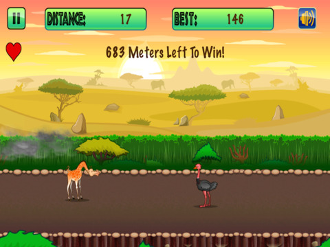 Giraffe Survival Racing screenshot 4