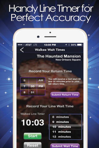 MouseTime for Disneyland Line Wait Times - náhled