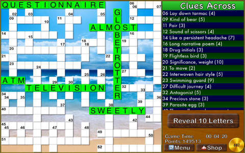 Crossword Professional HD - náhled