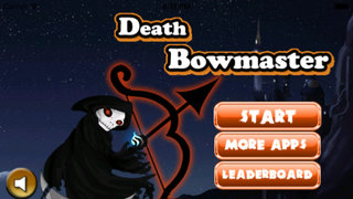 Death Bowmaster PRO- archery shooting game screenshot 1