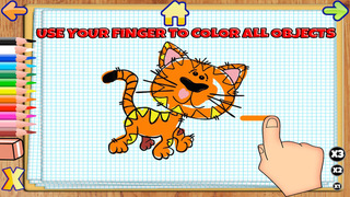 Coloring Objects For Kids FREE screenshot 3