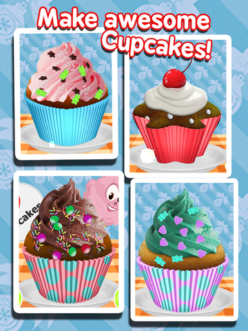Cupcake Maker - Cooking Games! screenshot 5