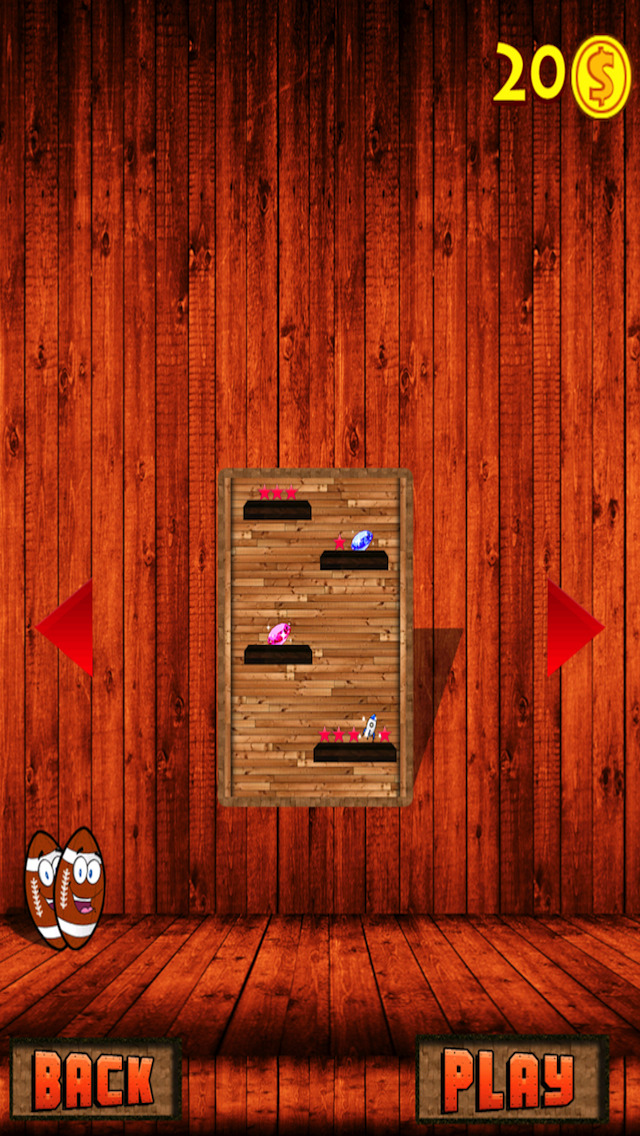 A Football Jump Free - Crazy Obstacle Adventure Game screenshot 2