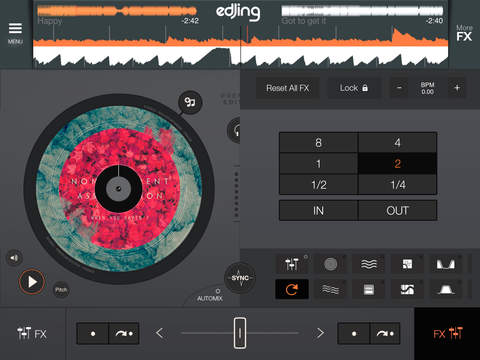 edjing DJ Mix Premium Edition - mixer console studio for iPhone and iPad screenshot 7