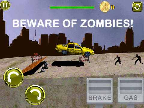 3D Earn Respect Evil Zombies Die - Go Monster Car Highway and Simulator Driving Offroad Race Chase Free Game screenshot 7