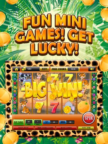 Ace Classic Vegas Baby Tiger Slots - Lucky Safari Gambling Casino Slot Machine Games Free screenshot 9