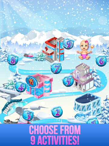 Ice Queen Mommy Baby Princess screenshot 9