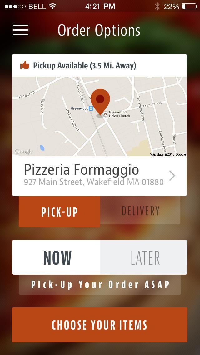 Pizzeria Formaggio screenshot 2