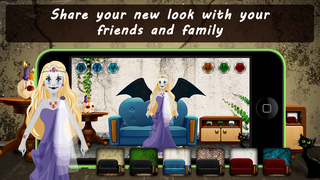 Spooky Princess Dress Up Lite screenshot 5