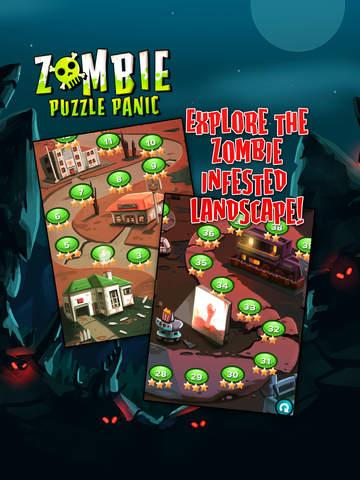 Zombie Puzzle Panic screenshot 8