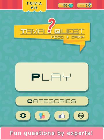 Trivia Quest™ Food & Drink - trivia questions screenshot 8