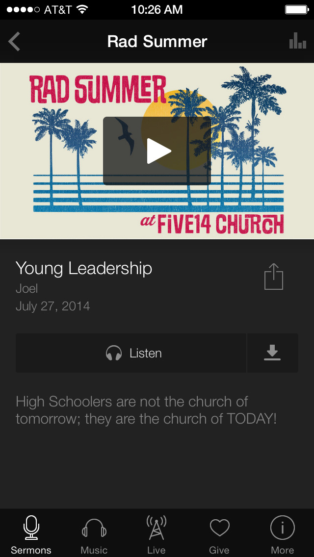 Five14 Church screenshot 3