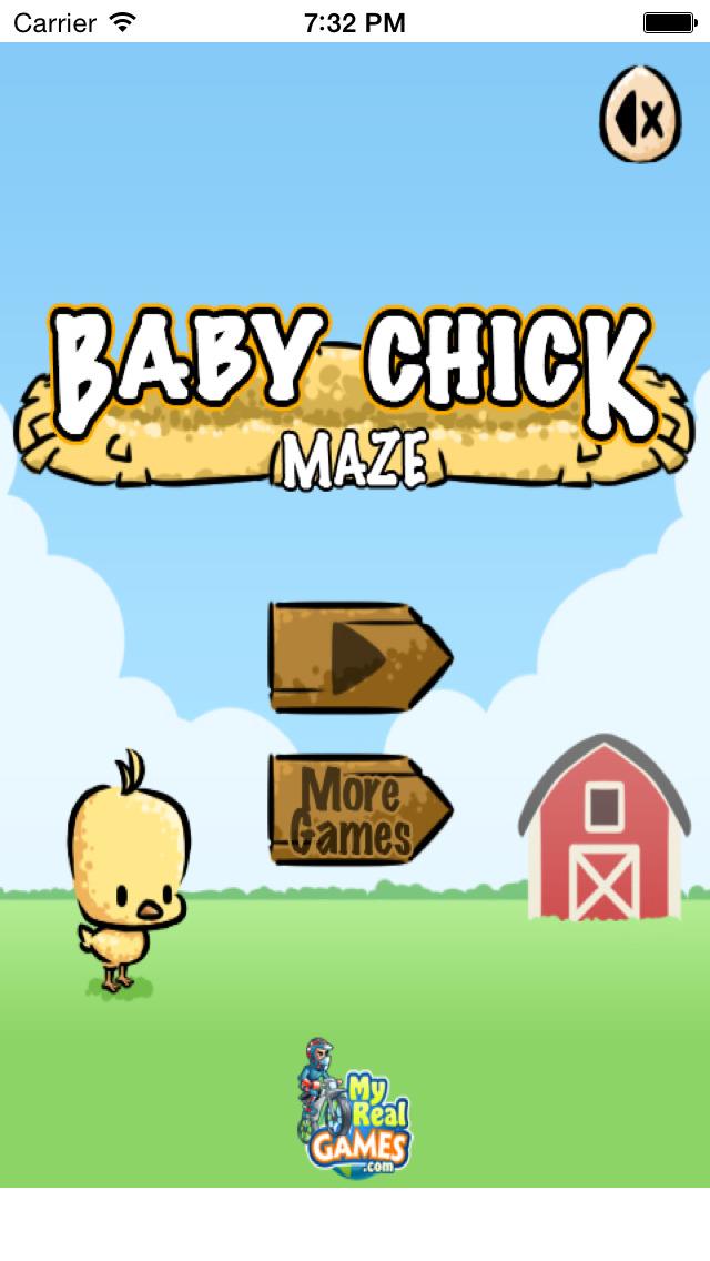 Baby Chick Maze - Free Game! screenshot 2