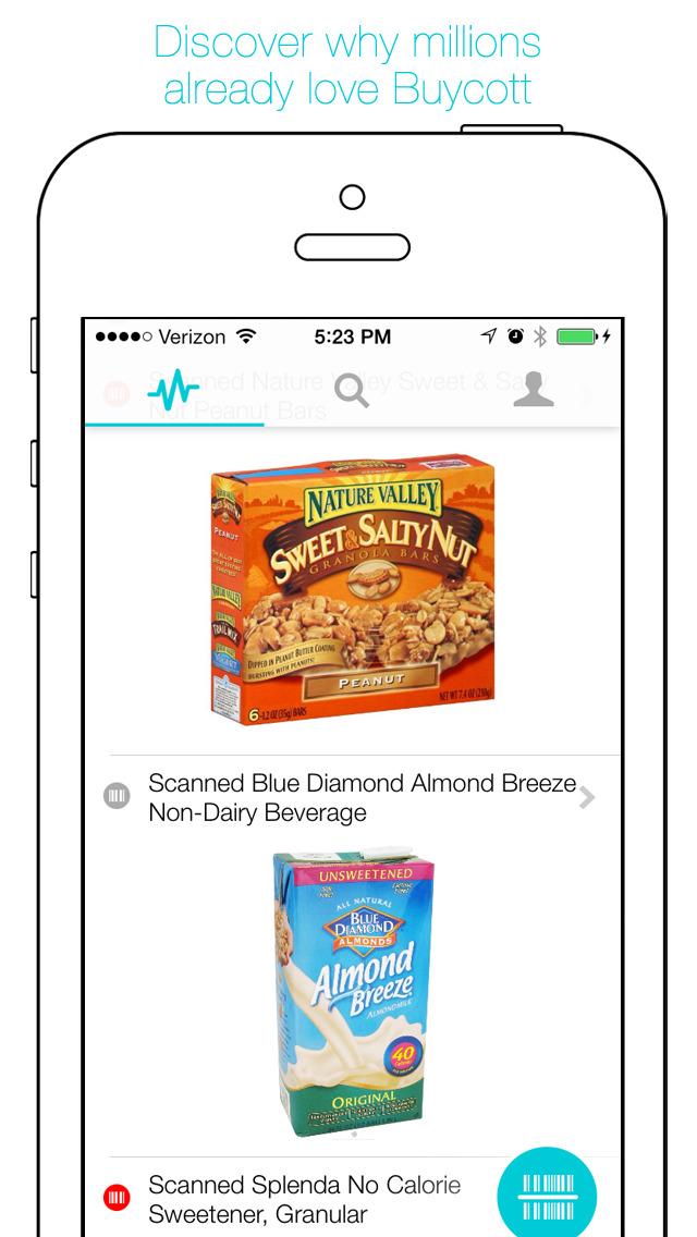 Buycott - Barcode Scanner & QR Bar Code Scanner screenshot 5