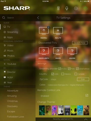 Sharp SmartCentral Remote screenshot 6