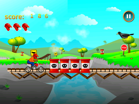 Motorcycle Race Meltdown screenshot 2